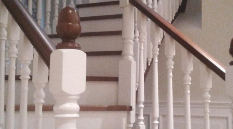 Fabricacion escalera de madera